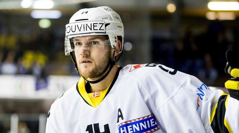 Arnaud Montandon évoluait avec Ajoie la saison passée.