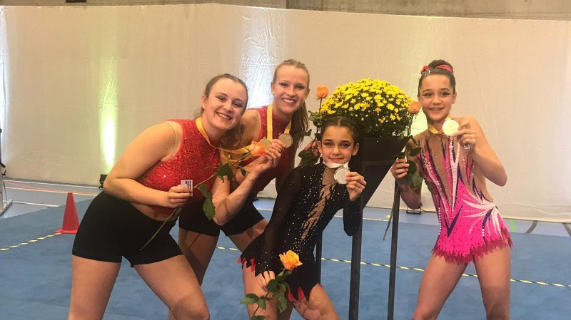 Gymnastique: Géraldine Squaratti remporte le titre national en catégorie jeunesse