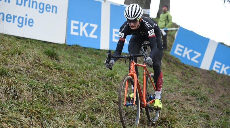 Gilles Mottiez, 28e du cyclocross d'Aigle, sa deuxième course de la saison.