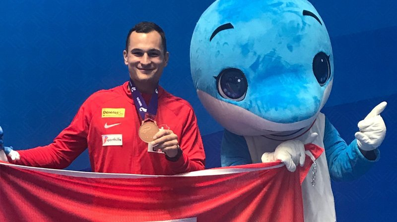 Escrime: Lucas Malcotti monte sur le podium des Jeux mondiaux militaires