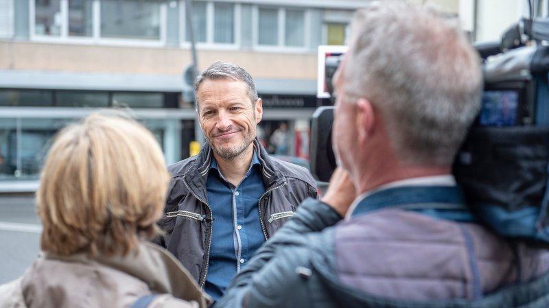 Il sera le premier Vert valaisan à Berne: rencontre avec Christophe Clivaz, le politicien qui n'a jamais rêvé de l'être
