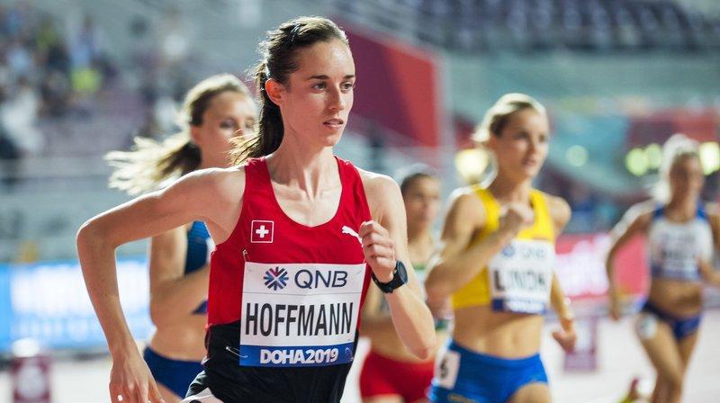 Lore Hoffmann était encore idéalement placée à quelques mètres de l'arrivée.