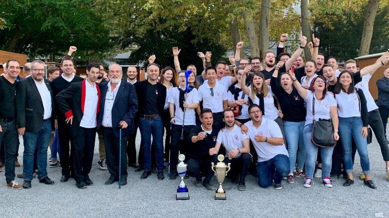 Le Brass Band 13 Etoiles remporte le Swiss Open à Lucerne