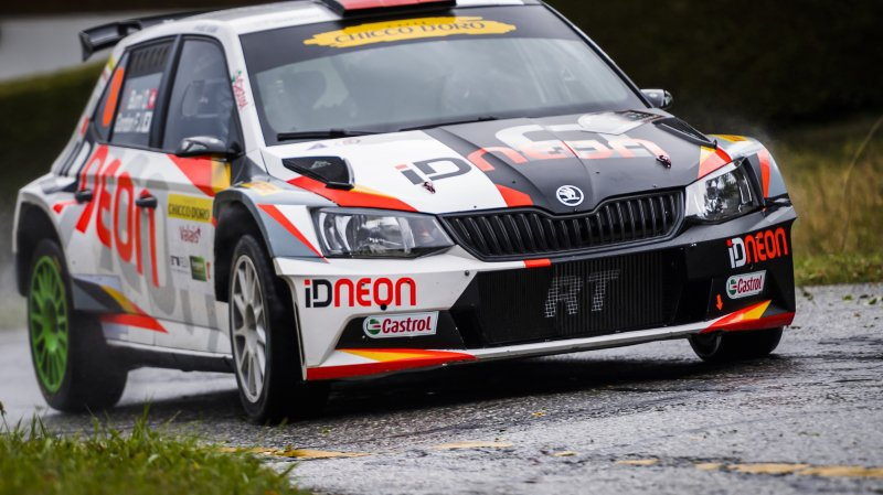 Mike Coppens détone au Rallye international du Valais. Le vainqueur Olivier Burri entre encore un peu plus dans l'histoire.