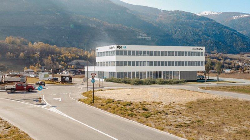 Les sociétés sierroises DPE Electrotechnique et Membratec viennent d'inaugurer leurs nouveaux locaux situés sur l'Ecoparc de Daval.