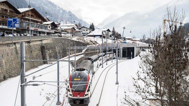 Un train des neiges va relier Genève à Verbier