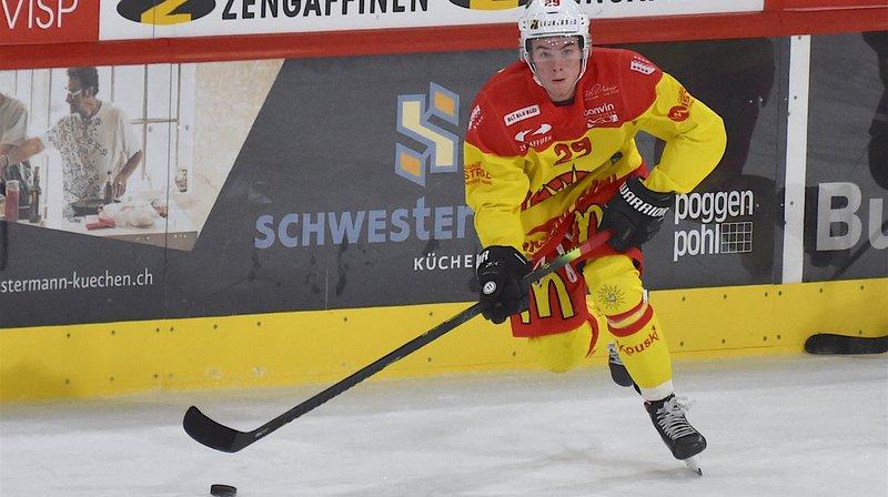 Gilles Ducret et le HC Sierre n'ont rien pu faire face aux leaders du championnat.