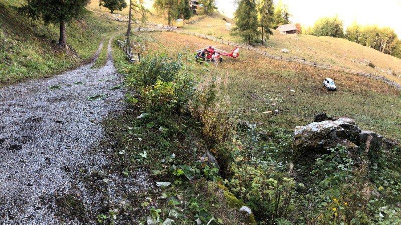 Accident à Haute-Nendaz: un Valaisan de 74 ans se tue