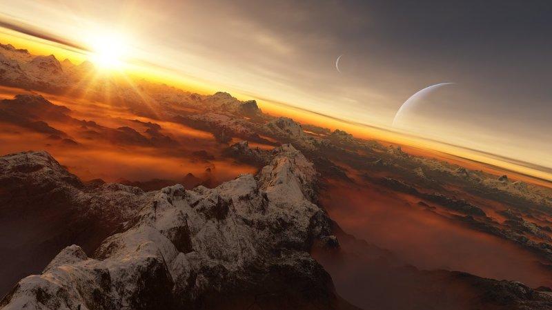 La Société astronomique suisse a reçu 1500 propositions pour baptiser HD 130322 b (illustration).