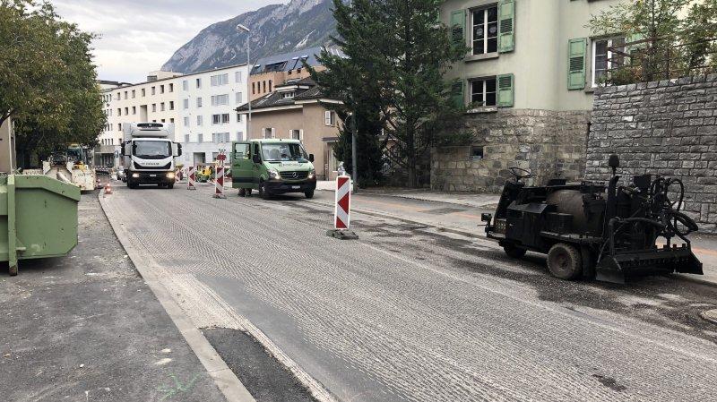 Sierre: des fermetures nocturnes de routes sont prévues mercredi et jeudi