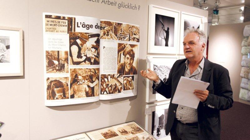 Le commissaire Nicolas Crispini a conçu une exposition qui se feuillette comme un magazine illustré.