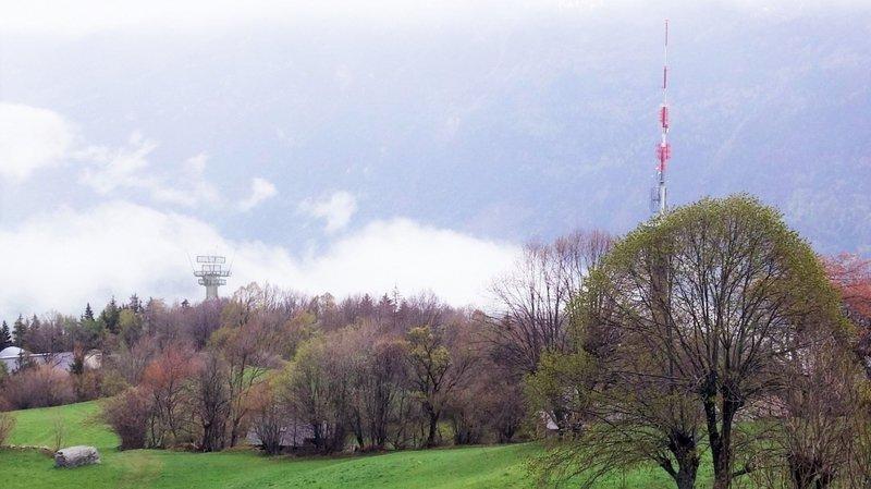 Un radar de surveillance à Ravoire? Le projet de l'armée inquiète les habitants