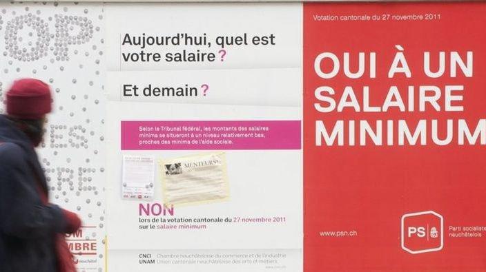 Faut-il instaurer un salaire minimum de 4000francs? Smartvote décortique l'avis des partis valaisans