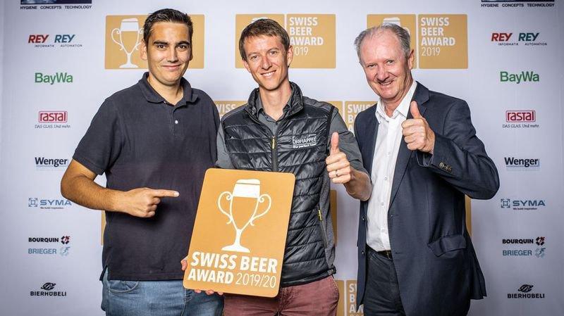 Quatre bières valaisannes dans le top suisse