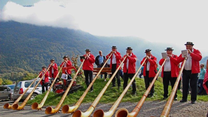 Les cors des Alpes rythmeront la journée organisée dimanche dans le vignoble bellerin.
