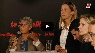 Fédérales 2019: face à face sur la thématique du territoire entre Madeline Heiniger PCS et Sylvie Luginbühl PLR