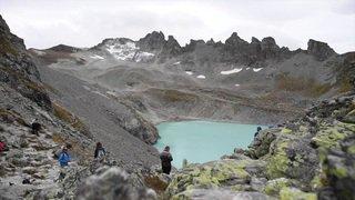 Des funérailles en montagne pour le glacier du Pizol