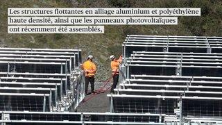 Un parc solaire flottant à 1810 mètres d'altitude à Bourg-Saint-Pierre (VS)