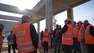 CFF: le saut-de-mouton pour les trains à Renens (VD) ouvert au public