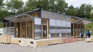Habitat: visite d'une maison solaire qui favorise le développement durable en milieu urbain