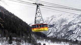 Valais: le dégel du permafrost a entraîné l'arrêt immédiat du téléphérique Fiescheralp-Eggishorn