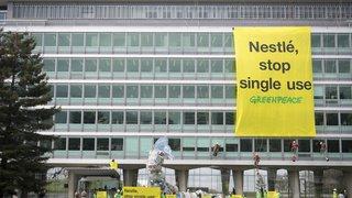 Environnement: Greenpeace épingle à nouveau Nestlé pour sa gestion du plastique