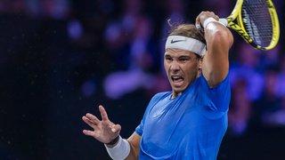 Tennis – Laver Cup: Nadal forfait à cause d'une blessure au poignet, Federer jouera avec Tsitsipas