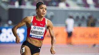 Athlétisme – Mondiaux de Doha: Mujinga Kambundji décroche la médaille de bronze au 200 mètres