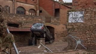 Violentes inondations en Catalogne
