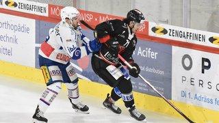 Hockey: Viège cale contre Kloten