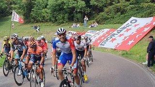 Cyclisme: Steve Morabito soutenu par ses fans en Italie