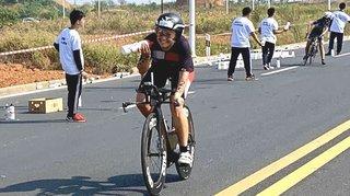 Triathlon: Joanna Ryter grimpe pour la première fois sur un podium professionnel