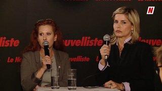 Fédérales 2019: face à face sur la thématique du travail entre Valentina Darbellay PDC et Gabrielle Barras UDC