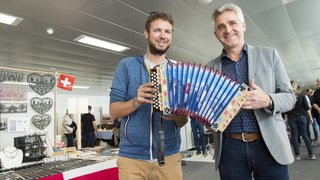 Crans-Montana: un marché folklorique au coeur de la Fête fédérale de la musique populaire