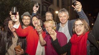 Ensemble, ils ont progressé, ensemble ils ont gagné: La gauche devient la deuxième force politique du Valais
