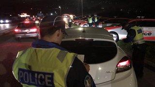Grosse opération de police à Monthey mardi soir