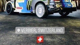 Ken Block, une présence qui fait grand bruit au Rallye international du Valais