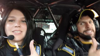 Tiens, revoilà Ismaël Vuistiner et Florine Kummer au Rallye Monte-Carlo