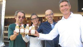 Le Service de l'agriculture et Opaline ont élaboré un jus de poires aux saveurs oubliées