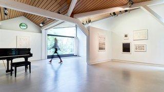 Fondation Louis Moret: un espace éclairé dédié à l'art et aux rencontres