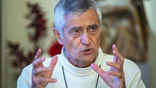 Mgr Lovey raconte comment il se sent après cinq ans à la tête de l'évêché de Sion