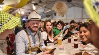 Choucroute, bières et musique bavaroise, l'Oktoberfest de Monthey ne renie pas une formule qui gagne