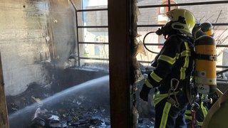 Sierre: un départ de feu sur un balcon provoque une explosion