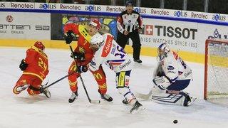 Hockey sur glace: le HC Sierre dans le rouge vif