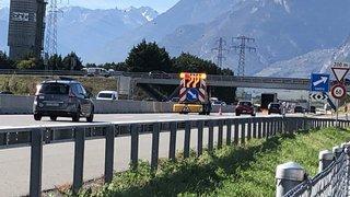 Valais: un trafic plus fluide lors de travaux sur l'autoroute