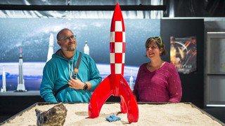 """Foire du Valais: l'exposition """"Space Oddity"""" en images"""