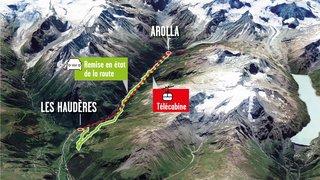 Evolène: le projet de liaison câblée entre les Haudères et Arolla abandonné