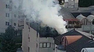 Incendie: une bonbonne de gaz explose à Sierre