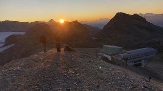 Crans-Montana: assister au lever du soleil à la Plaine Morte