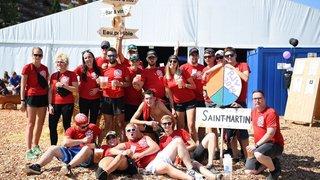 Les Jeunesses de Saint-Martin et de Finhaut font la fête